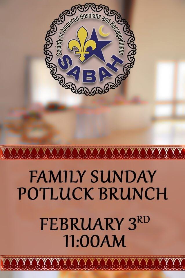 Family Potluck Brunch – 3. February 2019