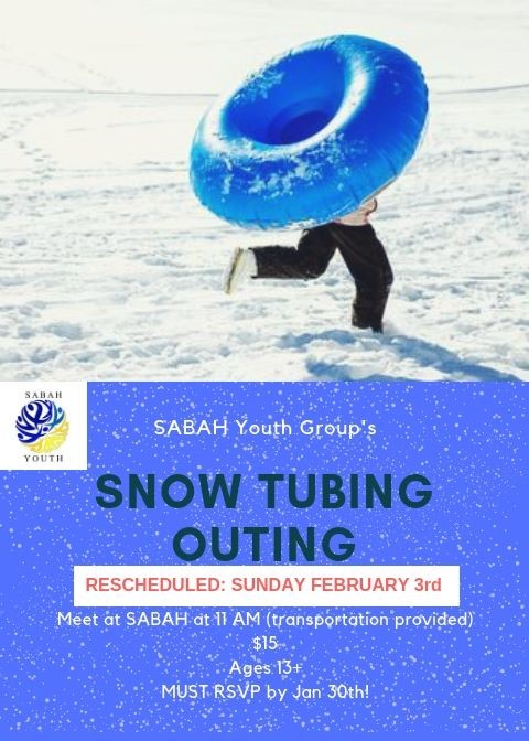 Snow Tubing for Youth – 3. February 2019