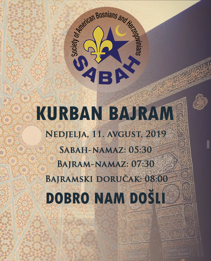 Kurban Bajram 2019.